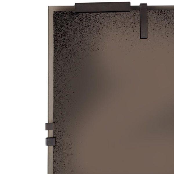 Bronze Frameless Floor Mirror