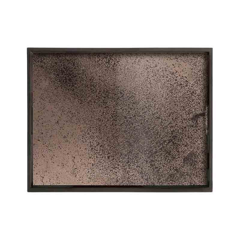 Ethnicraft Bronze Rectangular Mirror Tray by Dawn Sweitzer Olson and Baker - Designer & Contemporary Sofas, Furniture - Olson and Baker showcases original designs from authentic, designer brands. Buy contemporary furniture, lighting, storage, sofas & chairs at Olson + Baker.