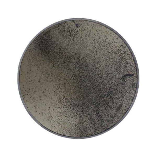 Bronze Round Wall Mirror