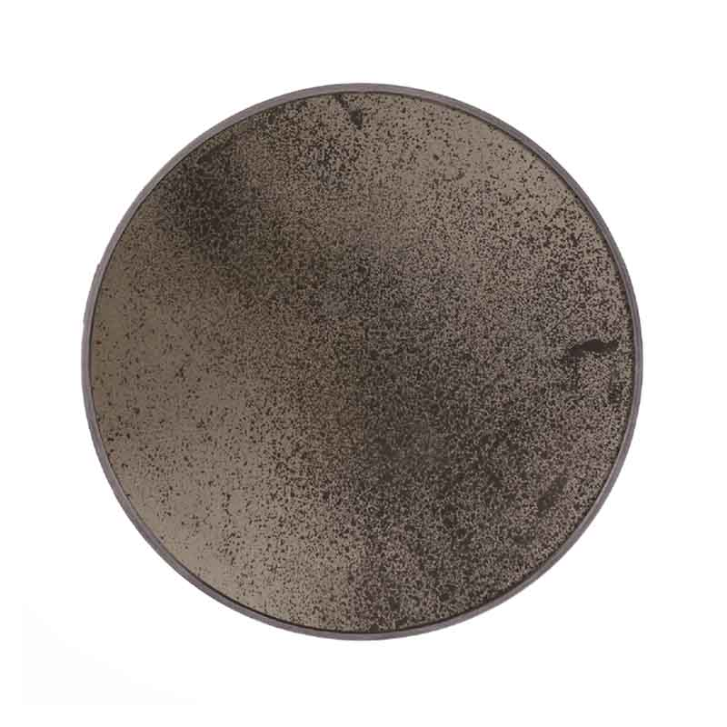 Ethnicraft Bronze Round Wall Mirror by Dawn Sweitzer Olson and Baker - Designer & Contemporary Sofas, Furniture - Olson and Baker showcases original designs from authentic, designer brands. Buy contemporary furniture, lighting, storage, sofas & chairs at Olson + Baker.