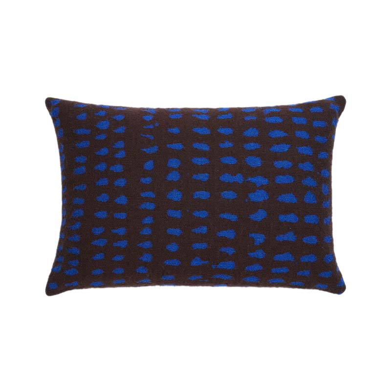 Ethnicraft Brown Dots 60x40cm Cushion by Dawn Sweitzer Olson and Baker - Designer & Contemporary Sofas, Furniture - Olson and Baker showcases original designs from authentic, designer brands. Buy contemporary furniture, lighting, storage, sofas & chairs at Olson + Baker.