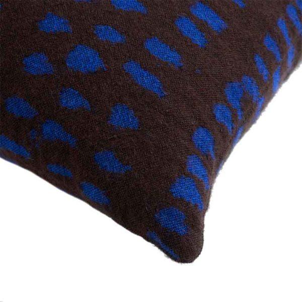 Brown Dots 60x40cm Cushion