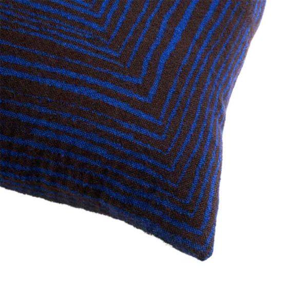 Brown Linear 45x45cm Cushion