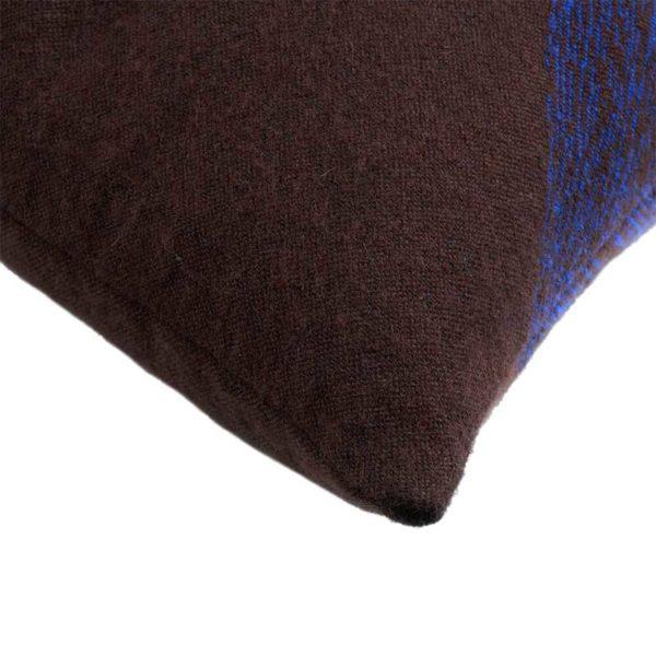 Brown Linear Diamonds 60x40cm Cushion