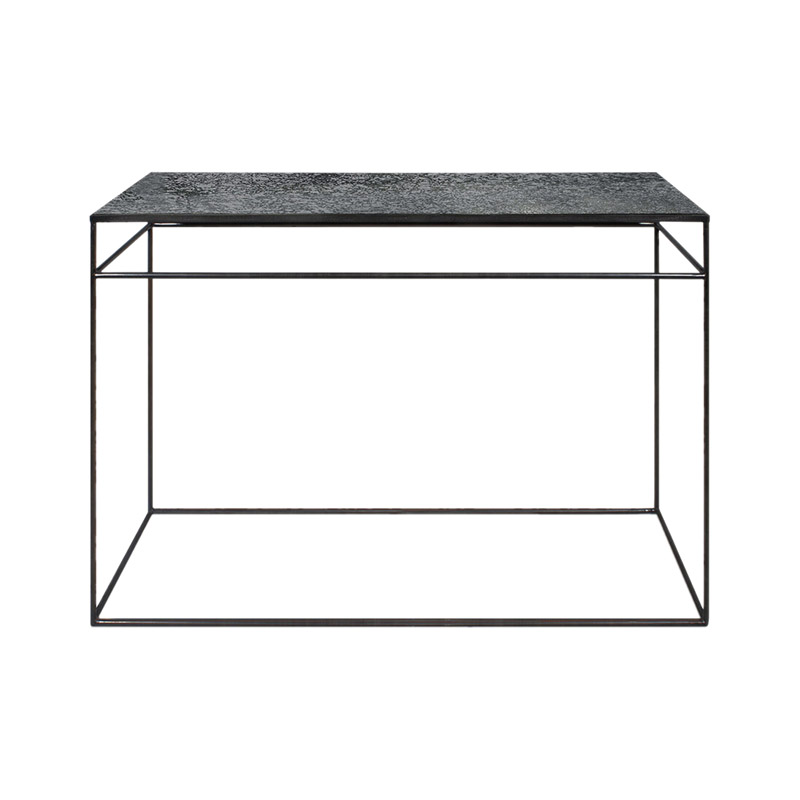 Ethnicraft Charcoal Console by Dawn Sweitzer Olson and Baker - Designer & Contemporary Sofas, Furniture - Olson and Baker showcases original designs from authentic, designer brands. Buy contemporary furniture, lighting, storage, sofas & chairs at Olson + Baker.