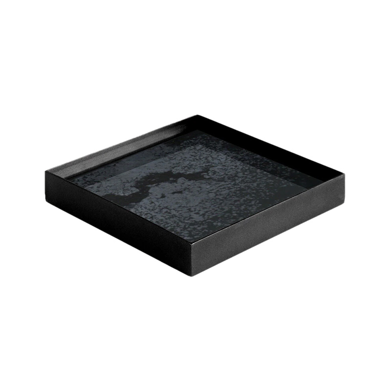 Ethnicraft_Charcoal_Mirror_Valet_Tray_by_Dawn_Sweitzer_Small_2 Olson and Baker - Designer & Contemporary Sofas, Furniture - Olson and Baker showcases original designs from authentic, designer brands. Buy contemporary furniture, lighting, storage, sofas & chairs at Olson + Baker.