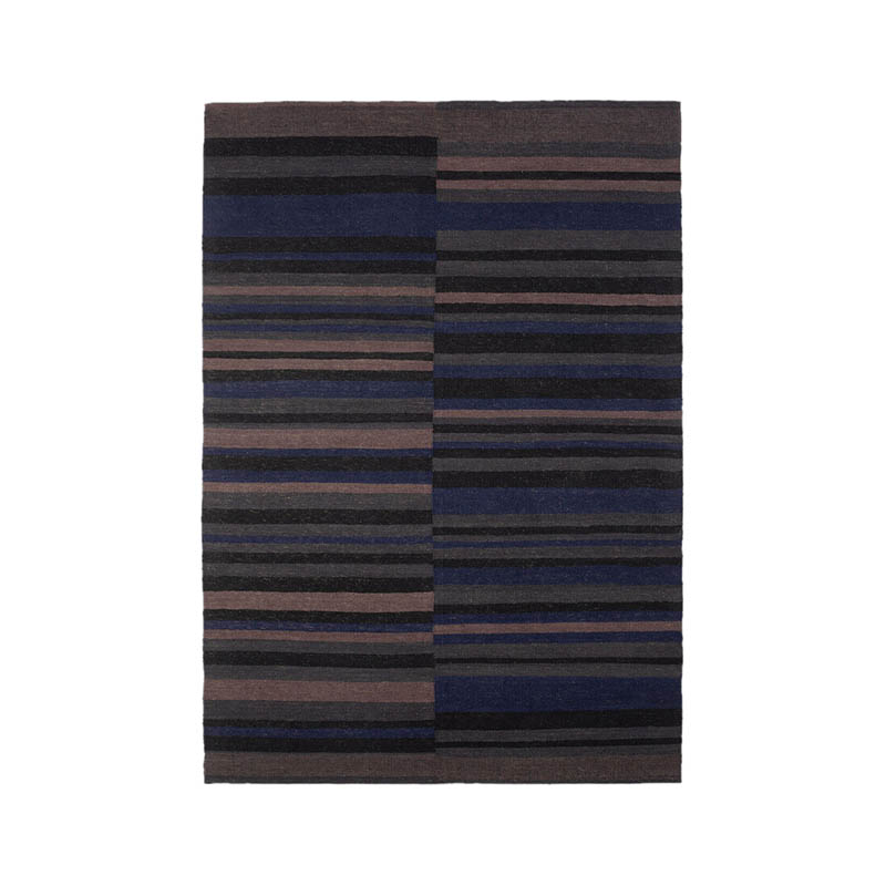 Ethnicraft Cobalt Kilim Rug by Ashatri x Ethnicraft Design Studio Olson and Baker - Designer & Contemporary Sofas, Furniture - Olson and Baker showcases original designs from authentic, designer brands. Buy contemporary furniture, lighting, storage, sofas & chairs at Olson + Baker.