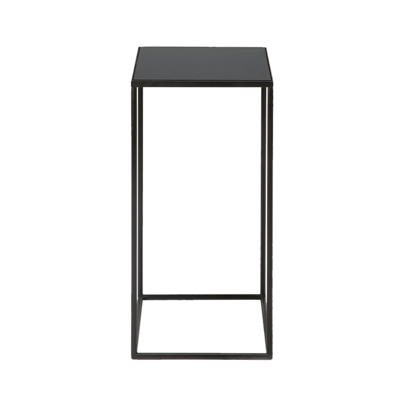 Ethnicraft Compact Charcoal Side Table by Dawn Sweitzer Olson and Baker - Designer & Contemporary Sofas, Furniture - Olson and Baker showcases original designs from authentic, designer brands. Buy contemporary furniture, lighting, storage, sofas & chairs at Olson + Baker.