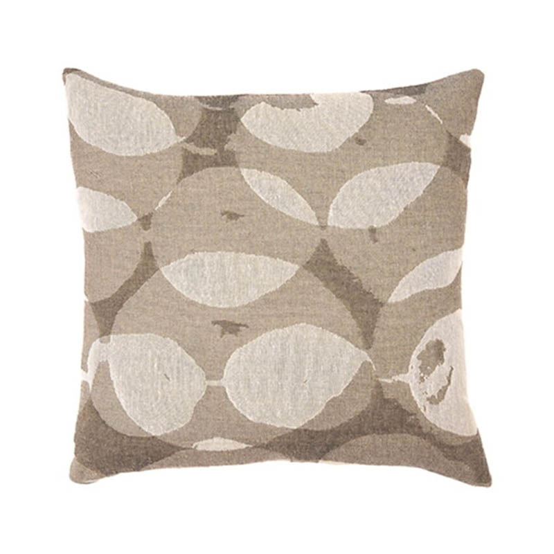 Ethnicraft Connected Dots 50x50cm Cushion by Dawn Sweitzer Olson and Baker - Designer & Contemporary Sofas, Furniture - Olson and Baker showcases original designs from authentic, designer brands. Buy contemporary furniture, lighting, storage, sofas & chairs at Olson + Baker.