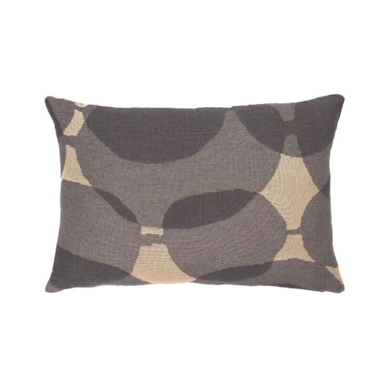 Ethnicraft Connected Dots 60x40cm Cushion by Dawn Sweitzer Olson and Baker - Designer & Contemporary Sofas, Furniture - Olson and Baker showcases original designs from authentic, designer brands. Buy contemporary furniture, lighting, storage, sofas & chairs at Olson + Baker.