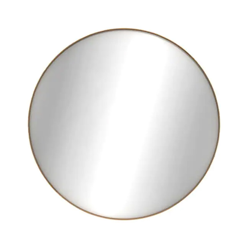 Ethnicraft Layers Round Wall Mirror by Dawn Sweitzer Olson and Baker - Designer & Contemporary Sofas, Furniture - Olson and Baker showcases original designs from authentic, designer brands. Buy contemporary furniture, lighting, storage, sofas & chairs at Olson + Baker.