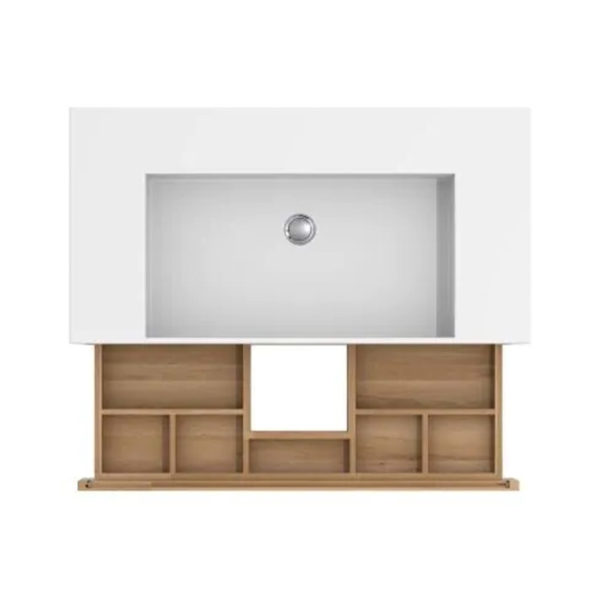 Layers Sink Cabinet