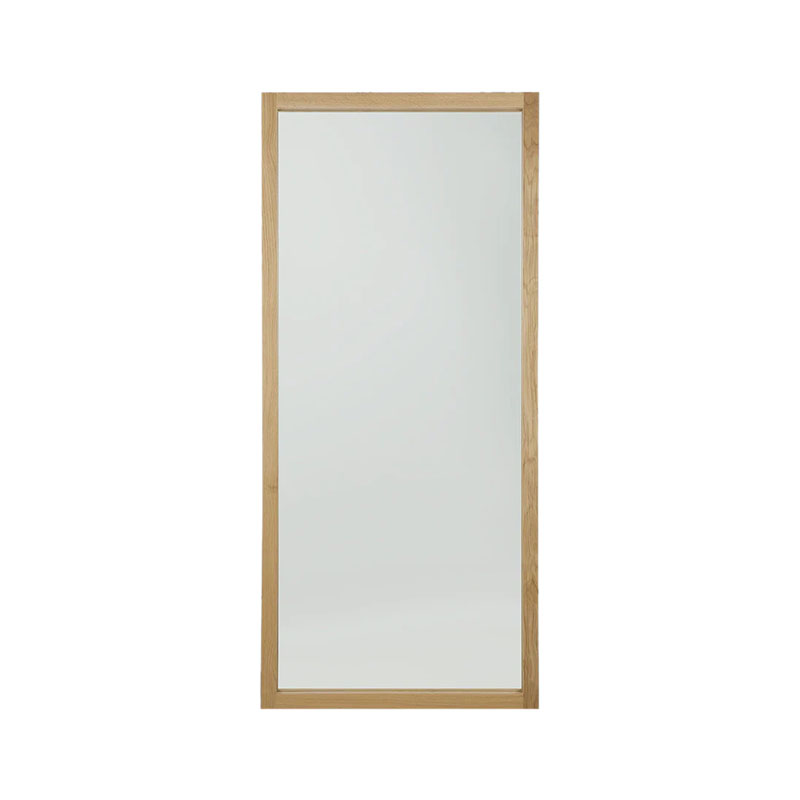 Ethnicraft Light Frame Floor Mirror by Dawn Sweitzer Olson and Baker - Designer & Contemporary Sofas, Furniture - Olson and Baker showcases original designs from authentic, designer brands. Buy contemporary furniture, lighting, storage, sofas & chairs at Olson + Baker.