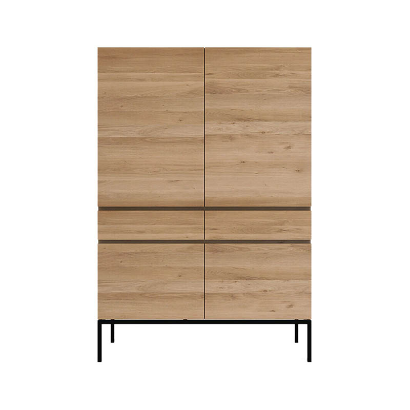 Ethnicraft Ligna Storage Cupboard by Ethnicraft Design Studio Olson and Baker - Designer & Contemporary Sofas, Furniture - Olson and Baker showcases original designs from authentic, designer brands. Buy contemporary furniture, lighting, storage, sofas & chairs at Olson + Baker.