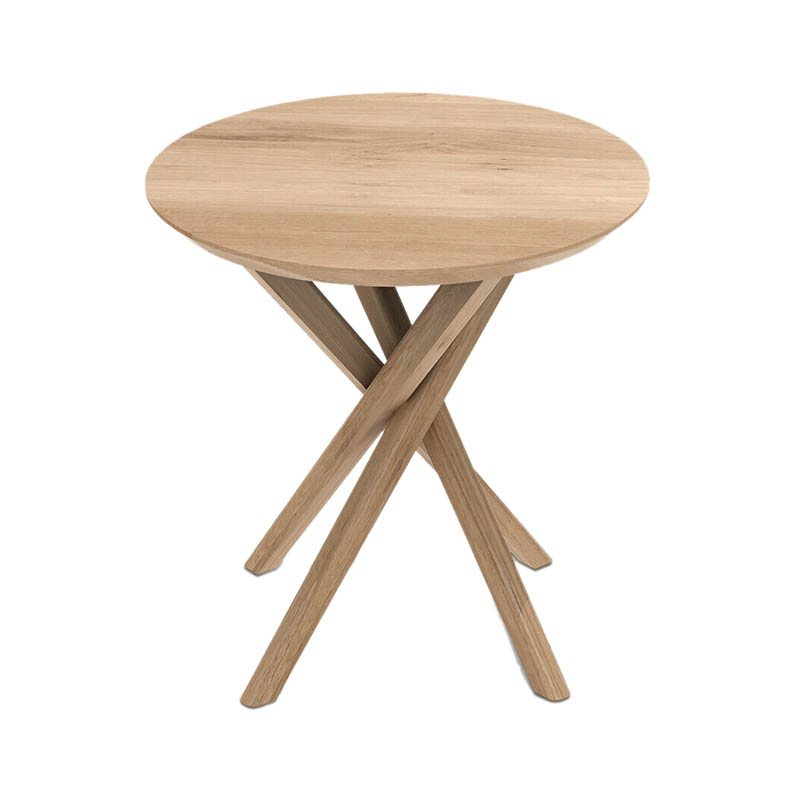 Ethnicraft Mikado Side Table by Alain Van Havre Olson and Baker - Designer & Contemporary Sofas, Furniture - Olson and Baker showcases original designs from authentic, designer brands. Buy contemporary furniture, lighting, storage, sofas & chairs at Olson + Baker.