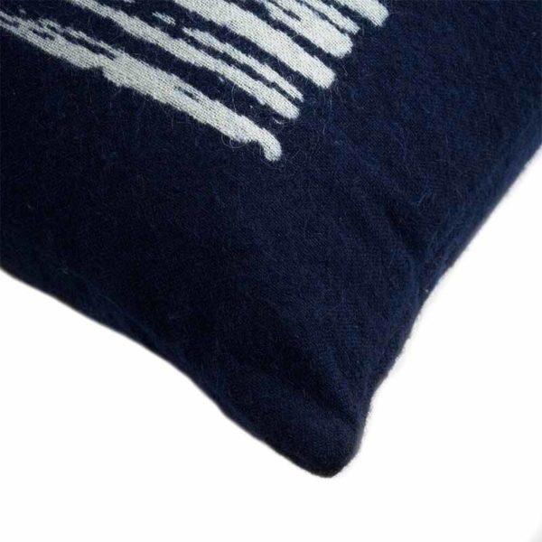 Navy Lines 45x45cm Cushion