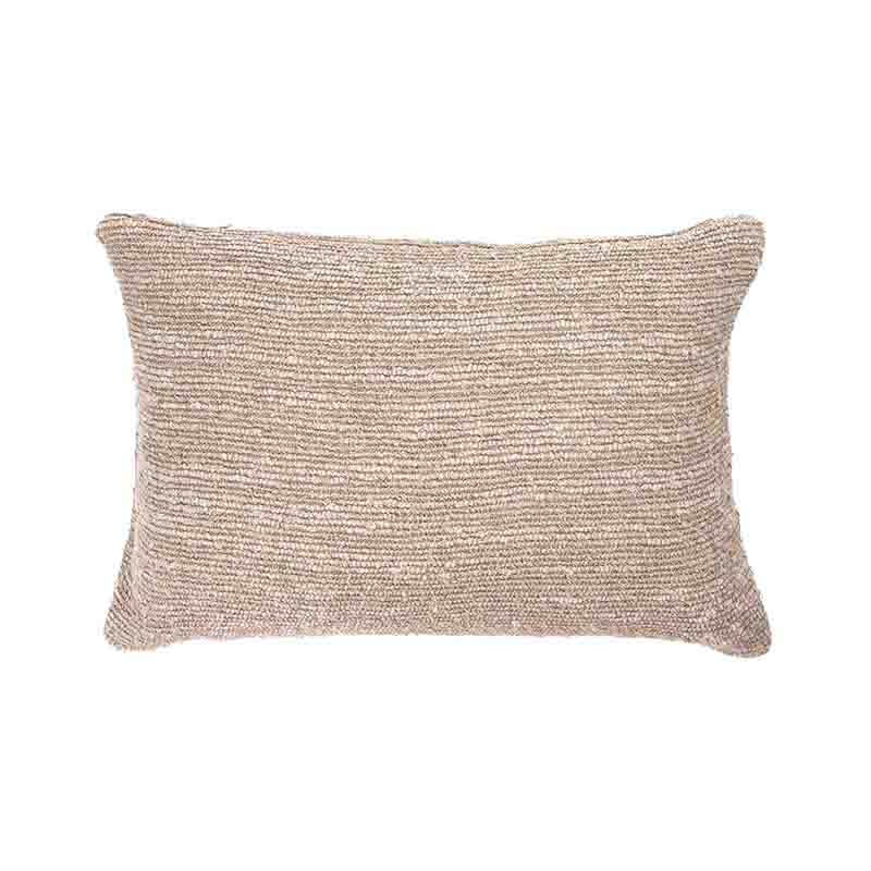 Ethnicraft Oat Nomad 60x40cm Cushion by Dawn Sweitzer Olson and Baker - Designer & Contemporary Sofas, Furniture - Olson and Baker showcases original designs from authentic, designer brands. Buy contemporary furniture, lighting, storage, sofas & chairs at Olson + Baker.