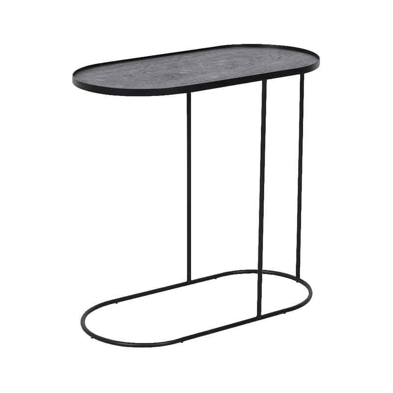 Ethnicraft Oblong Tray Side Table by Dawn Sweitzer Olson and Baker - Designer & Contemporary Sofas, Furniture - Olson and Baker showcases original designs from authentic, designer brands. Buy contemporary furniture, lighting, storage, sofas & chairs at Olson + Baker.