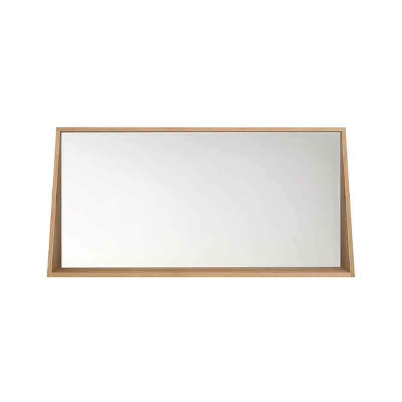 Ethnicraft Qualitime Bathroom Wall Mirror by Ethnicraft Design Studio Olson and Baker - Designer & Contemporary Sofas, Furniture - Olson and Baker showcases original designs from authentic, designer brands. Buy contemporary furniture, lighting, storage, sofas & chairs at Olson + Baker.