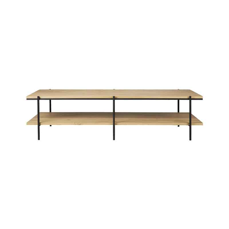 Ethnicraft Rise 120x70cm Coffee Table by Alain Van Havre Olson and Baker - Designer & Contemporary Sofas, Furniture - Olson and Baker showcases original designs from authentic, designer brands. Buy contemporary furniture, lighting, storage, sofas & chairs at Olson + Baker.