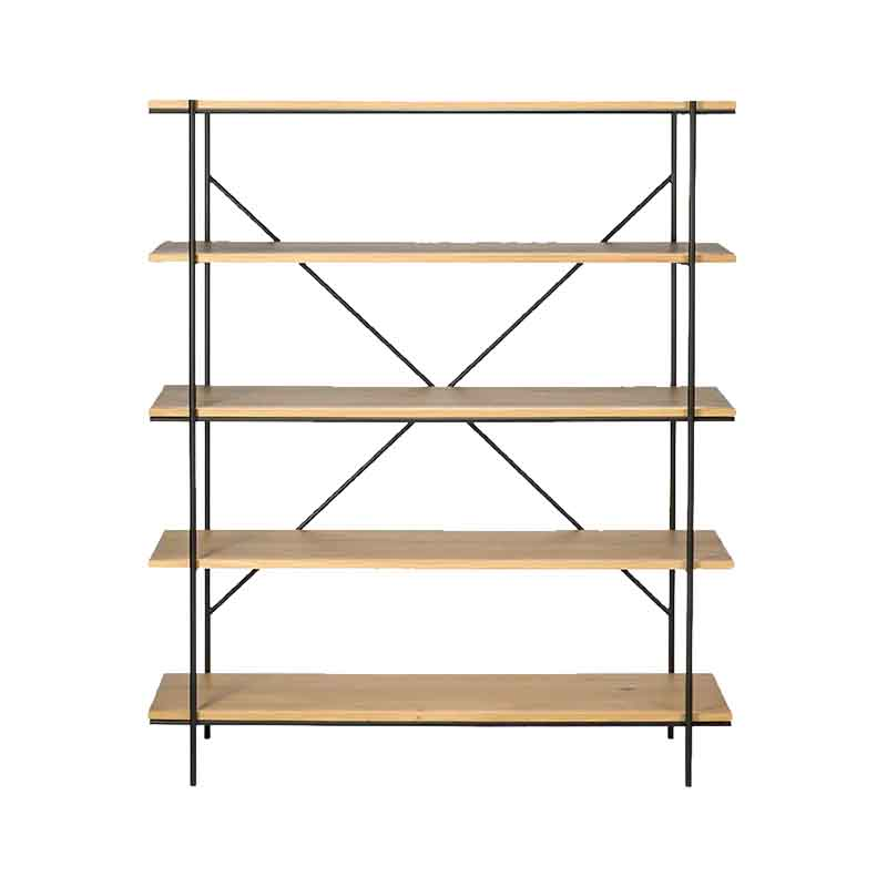 Ethnicraft Rise Rack by Alain Van Havre Olson and Baker - Designer & Contemporary Sofas, Furniture - Olson and Baker showcases original designs from authentic, designer brands. Buy contemporary furniture, lighting, storage, sofas & chairs at Olson + Baker.
