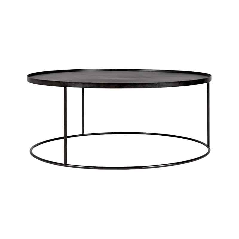 Ethnicraft_Round_Tray_Coffee_Table_by_Dawn_Sweitzer_3 Olson and Baker - Designer & Contemporary Sofas, Furniture - Olson and Baker showcases original designs from authentic, designer brands. Buy contemporary furniture, lighting, storage, sofas & chairs at Olson + Baker.