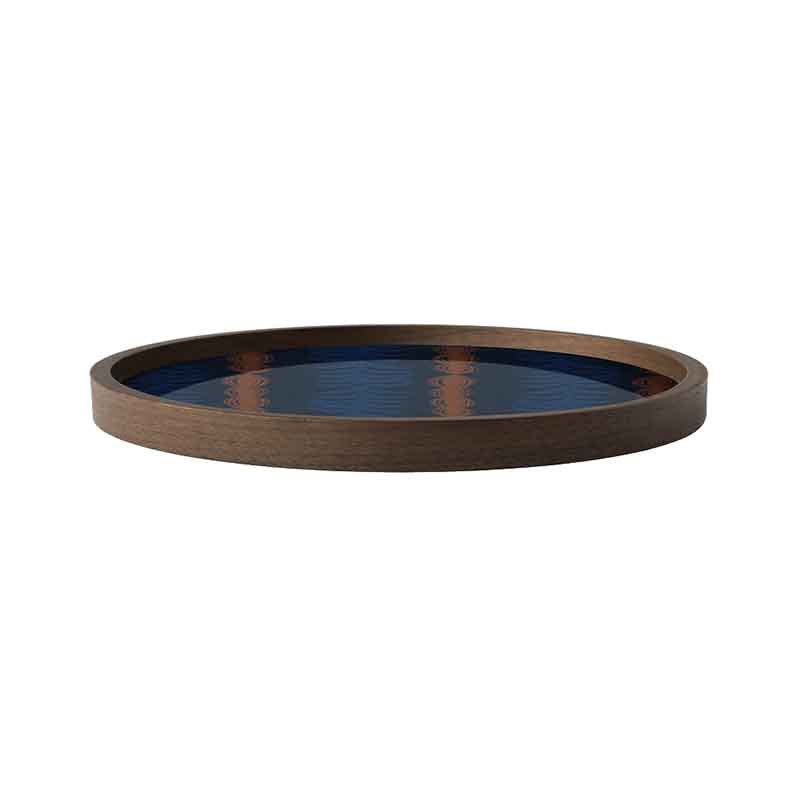 Ethnicraft_Royal_Palm_Round_Glass_Valet_Tray_by_Dawn_Sweitzer_2 Olson and Baker - Designer & Contemporary Sofas, Furniture - Olson and Baker showcases original designs from authentic, designer brands. Buy contemporary furniture, lighting, storage, sofas & chairs at Olson + Baker.