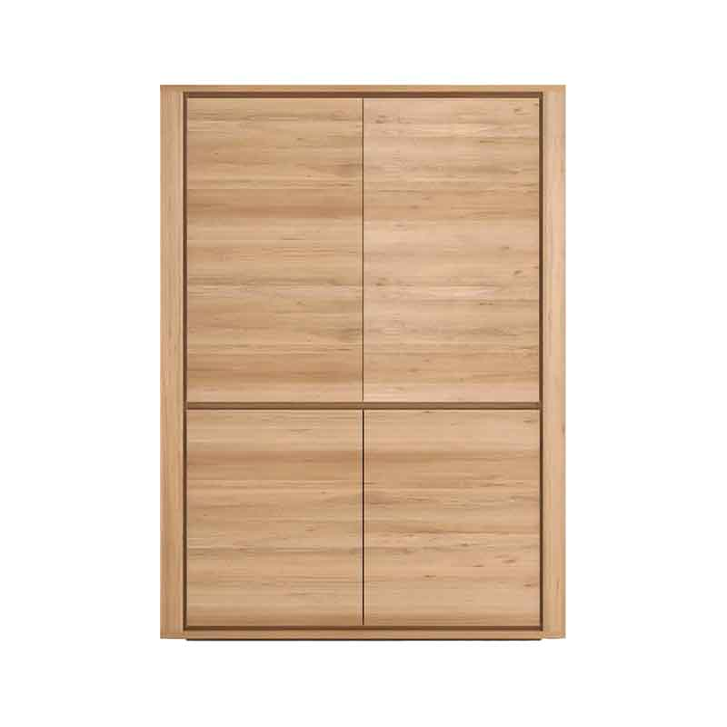 Ethnicraft Shadow Cupboard by Ethnicraft Design Studio Olson and Baker - Designer & Contemporary Sofas, Furniture - Olson and Baker showcases original designs from authentic, designer brands. Buy contemporary furniture, lighting, storage, sofas & chairs at Olson + Baker.