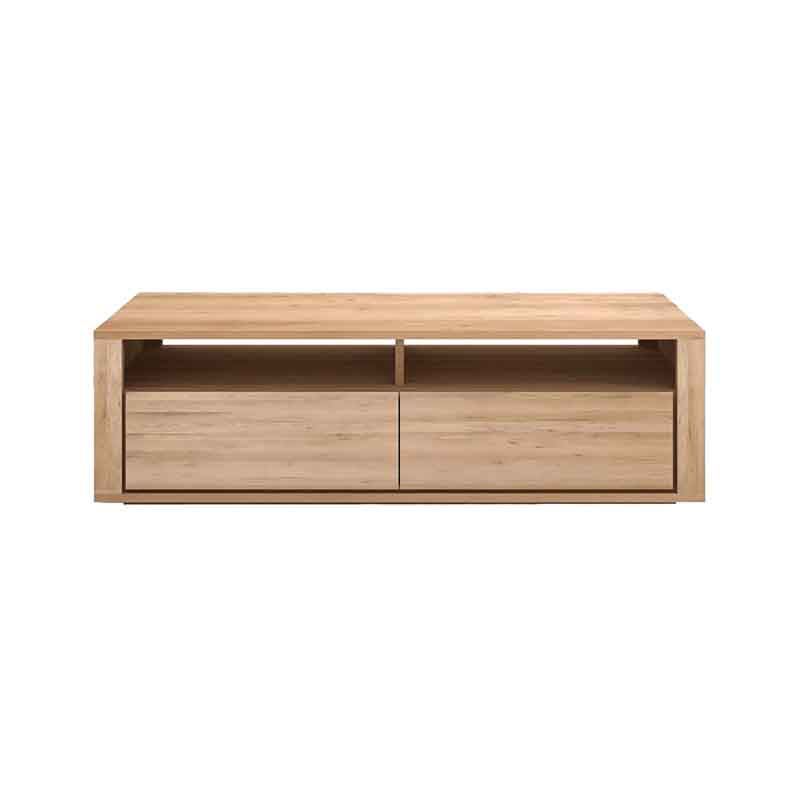 Ethnicraft Shadow TV Cupboard by Ethnicraft Design Studio Olson and Baker - Designer & Contemporary Sofas, Furniture - Olson and Baker showcases original designs from authentic, designer brands. Buy contemporary furniture, lighting, storage, sofas & chairs at Olson + Baker.