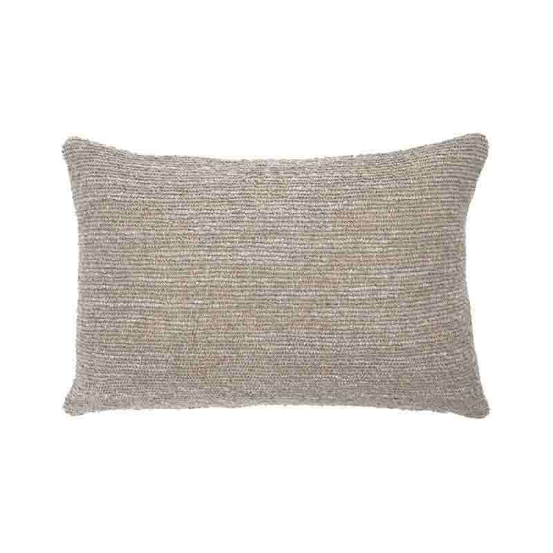 Ethnicraft Silver Nomad 60x40cm Cushion by Dawn Sweitzer Olson and Baker - Designer & Contemporary Sofas, Furniture - Olson and Baker showcases original designs from authentic, designer brands. Buy contemporary furniture, lighting, storage, sofas & chairs at Olson + Baker.
