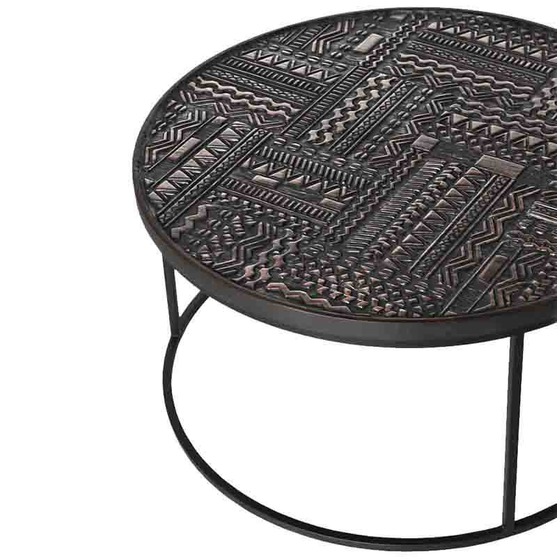 Ethnicraft_Tabwa_Round_Nesting_Coffee_Table_by_Carlos_Baladia_10 Olson and Baker - Designer & Contemporary Sofas, Furniture - Olson and Baker showcases original designs from authentic, designer brands. Buy contemporary furniture, lighting, storage, sofas & chairs at Olson + Baker.
