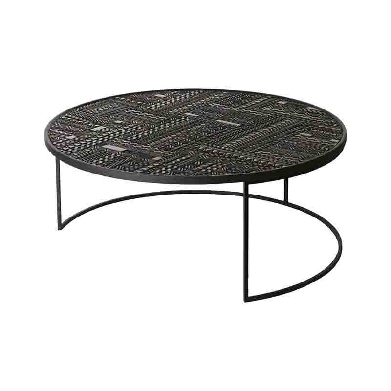 Ethnicraft_Tabwa_Round_Nesting_Coffee_Table_by_Carlos_Baladia_3 Olson and Baker - Designer & Contemporary Sofas, Furniture - Olson and Baker showcases original designs from authentic, designer brands. Buy contemporary furniture, lighting, storage, sofas & chairs at Olson + Baker.