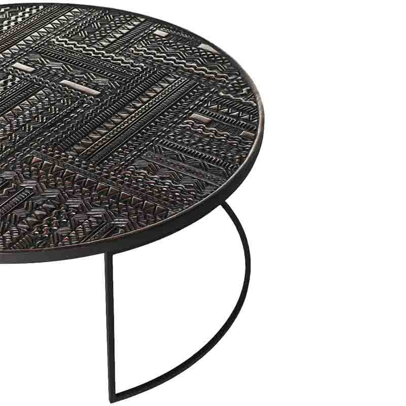 Ethnicraft_Tabwa_Round_Nesting_Coffee_Table_by_Carlos_Baladia_4 Olson and Baker - Designer & Contemporary Sofas, Furniture - Olson and Baker showcases original designs from authentic, designer brands. Buy contemporary furniture, lighting, storage, sofas & chairs at Olson + Baker.