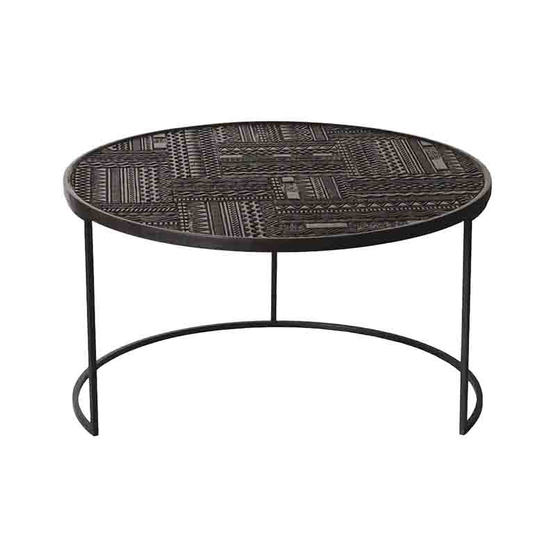 Ethnicraft_Tabwa_Round_Nesting_Coffee_Table_by_Carlos_Baladia_5 Olson and Baker - Designer & Contemporary Sofas, Furniture - Olson and Baker showcases original designs from authentic, designer brands. Buy contemporary furniture, lighting, storage, sofas & chairs at Olson + Baker.
