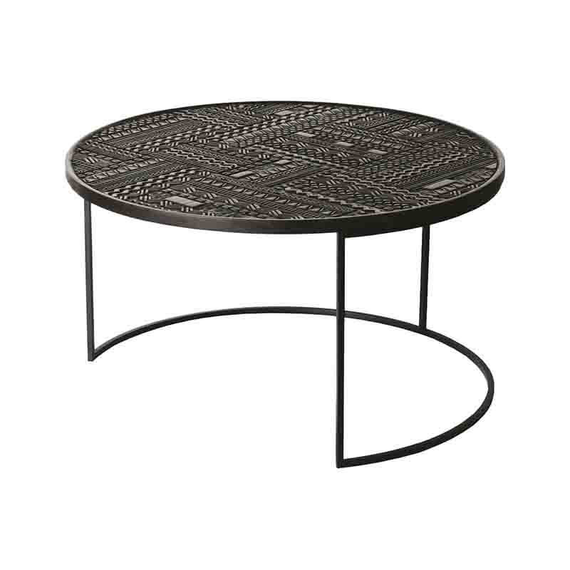 Ethnicraft_Tabwa_Round_Nesting_Coffee_Table_by_Carlos_Baladia_6 Olson and Baker - Designer & Contemporary Sofas, Furniture - Olson and Baker showcases original designs from authentic, designer brands. Buy contemporary furniture, lighting, storage, sofas & chairs at Olson + Baker.