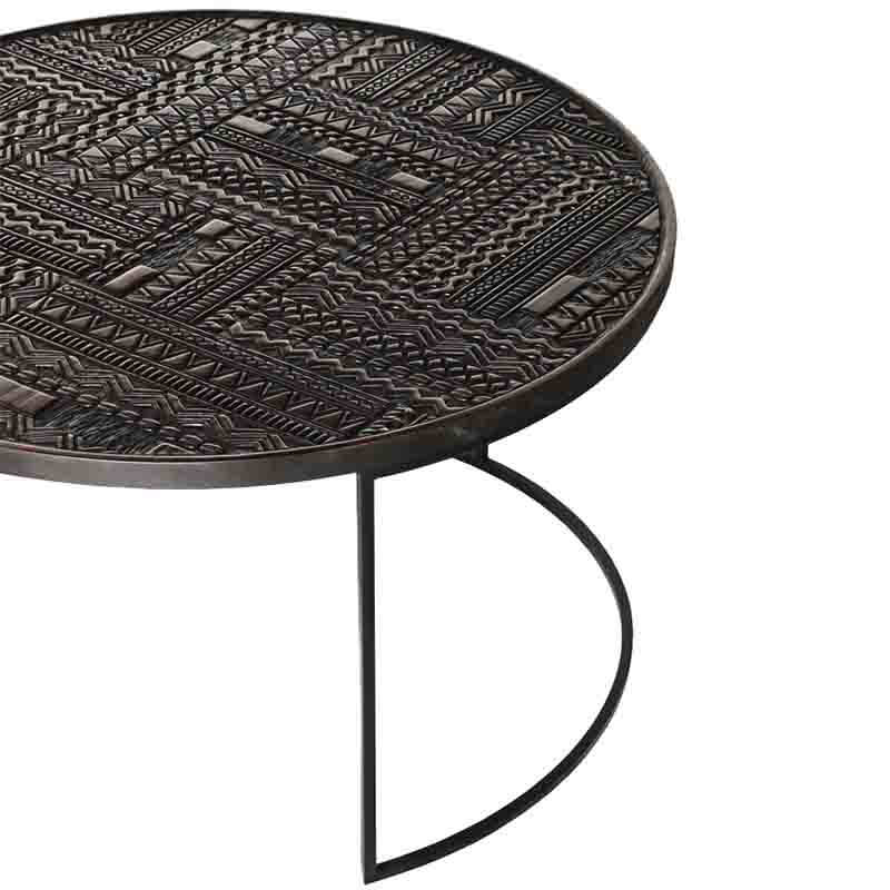Ethnicraft_Tabwa_Round_Nesting_Coffee_Table_by_Carlos_Baladia_7 Olson and Baker - Designer & Contemporary Sofas, Furniture - Olson and Baker showcases original designs from authentic, designer brands. Buy contemporary furniture, lighting, storage, sofas & chairs at Olson + Baker.