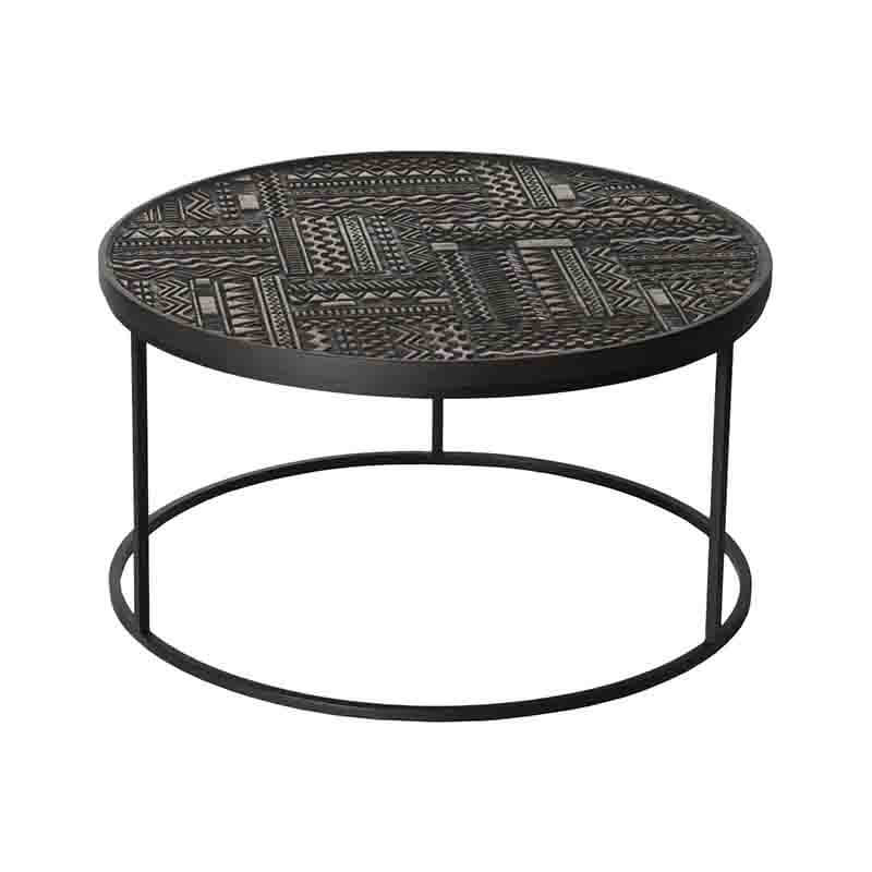 Ethnicraft_Tabwa_Round_Nesting_Coffee_Table_by_Carlos_Baladia_8 Olson and Baker - Designer & Contemporary Sofas, Furniture - Olson and Baker showcases original designs from authentic, designer brands. Buy contemporary furniture, lighting, storage, sofas & chairs at Olson + Baker.