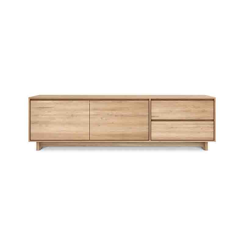 Ethnicraft Wave TV Cupboard by Ethnicraft Design Studio Olson and Baker - Designer & Contemporary Sofas, Furniture - Olson and Baker showcases original designs from authentic, designer brands. Buy contemporary furniture, lighting, storage, sofas & chairs at Olson + Baker.