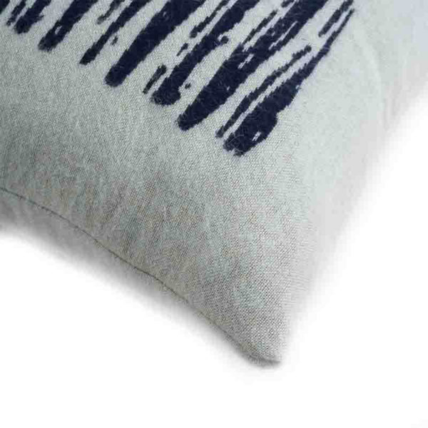 White Lines 45x45cm Cushion