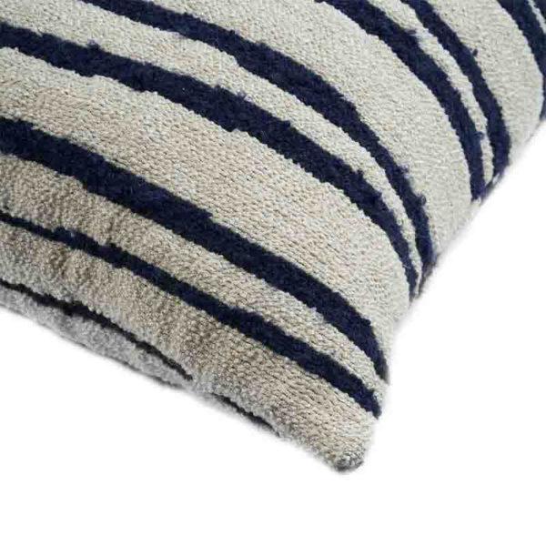 White Stripes 60x40cm Cushion