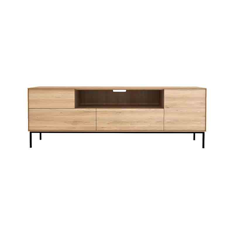 Ethnicraft Witebird TV Cupboard by Alain Van Havre Olson and Baker - Designer & Contemporary Sofas, Furniture - Olson and Baker showcases original designs from authentic, designer brands. Buy contemporary furniture, lighting, storage, sofas & chairs at Olson + Baker.