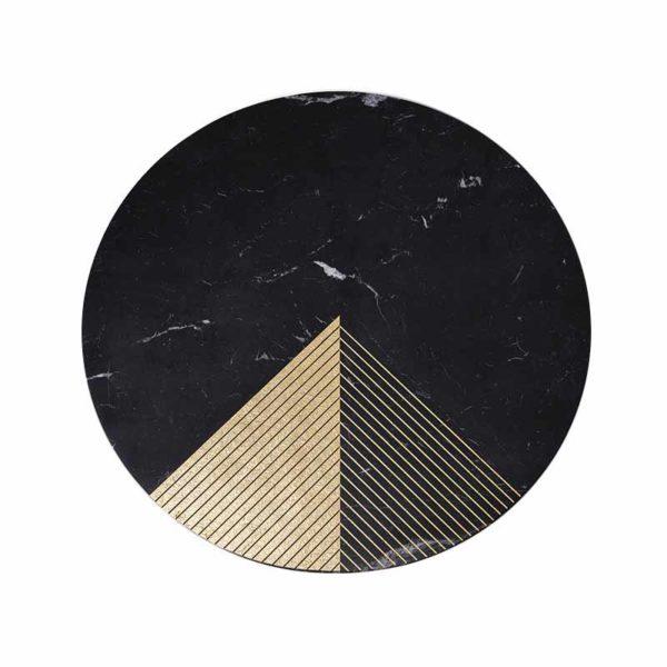 Gold Radius I Ø100cm Coffee Table