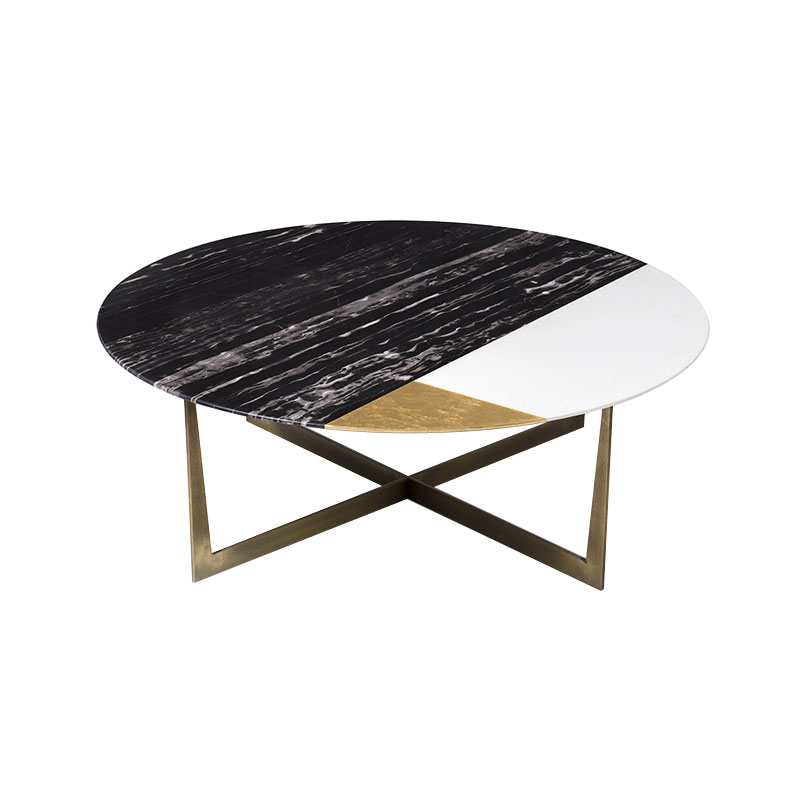 Alex Mint Slice of Jupiter Ø100cm Coffee Table by Alexia Mintsouli Olson and Baker - Designer & Contemporary Sofas, Furniture - Olson and Baker showcases original designs from authentic, designer brands. Buy contemporary furniture, lighting, storage, sofas & chairs at Olson + Baker.