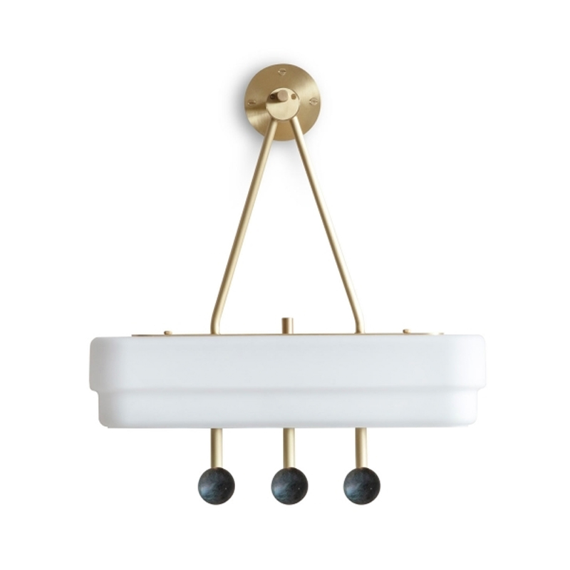 Bert Frank Spate Wall Lamp by Bert Frank Olson and Baker - Designer & Contemporary Sofas, Furniture - Olson and Baker showcases original designs from authentic, designer brands. Buy contemporary furniture, lighting, storage, sofas & chairs at Olson + Baker.