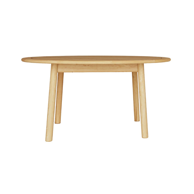 Case Furniture Tanso Ø146cm Round Dining Table by David Irwin Olson and Baker - Designer & Contemporary Sofas, Furniture - Olson and Baker showcases original designs from authentic, designer brands. Buy contemporary furniture, lighting, storage, sofas & chairs at Olson + Baker.
