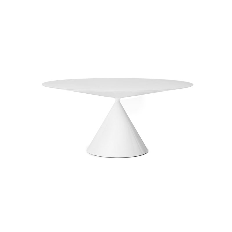 Desalto Clay Ø120cm Round Dining Table by Marc Krusin Olson and Baker - Designer & Contemporary Sofas, Furniture - Olson and Baker showcases original designs from authentic, designer brands. Buy contemporary furniture, lighting, storage, sofas & chairs at Olson + Baker.
