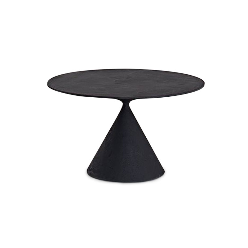 Desalto Mini Clay Round Ø75cm Coffee Table by Marc Krusin Olson and Baker - Designer & Contemporary Sofas, Furniture - Olson and Baker showcases original designs from authentic, designer brands. Buy contemporary furniture, lighting, storage, sofas & chairs at Olson + Baker.