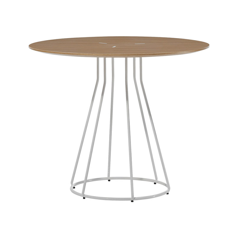 Inclass Arc Ø80cm Round Dining Table by Yonoh Olson and Baker - Designer & Contemporary Sofas, Furniture - Olson and Baker showcases original designs from authentic, designer brands. Buy contemporary furniture, lighting, storage, sofas & chairs at Olson + Baker.