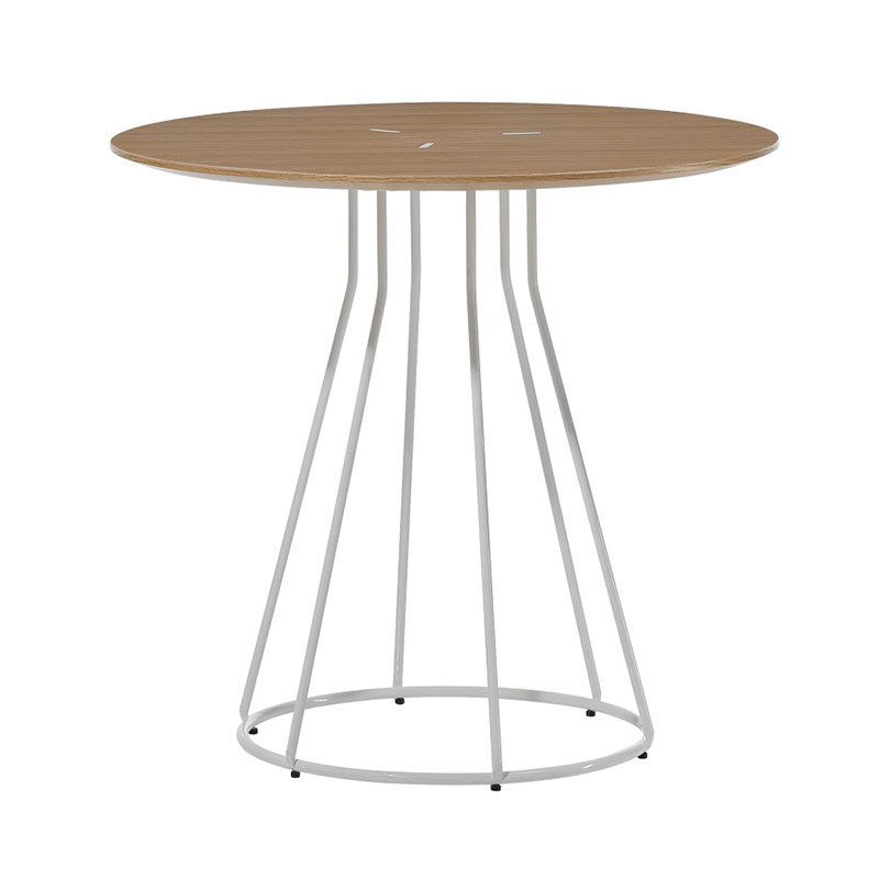 Inclass Arc Ø90cm Round Dining Table by Yonoh Olson and Baker - Designer & Contemporary Sofas, Furniture - Olson and Baker showcases original designs from authentic, designer brands. Buy contemporary furniture, lighting, storage, sofas & chairs at Olson + Baker.