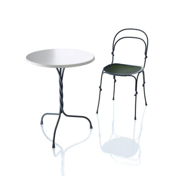 Vigna Ø60cm Round Cafe Dining Table